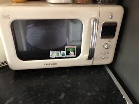 Daevoo cream microwave