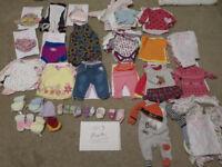 Bundle / Joblot of Baby clothes 0-3 months - 99 Items