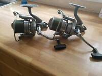 Daiwa crosscast 5000x reels with spare spools
