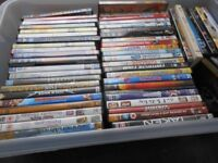 DVDs collection of around 140