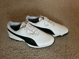Men's puma golf shoes U.K. Size 10