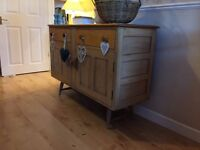 Free standing solid wood cabinet