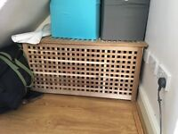 Storage box/ Blanket box/ toy chest from Ikea