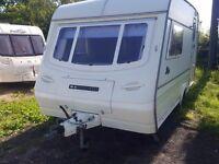 1992 Compass Rallye 2 Berth Caravan with Full Awning