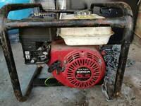 Honda generator gx160 2.7kva 110/240 volt