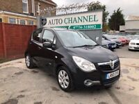 Vauxhall Agila 1.2 i 16v Design 5dr (a/c)£3,985 p/x welcome FREE 1 YEAR WARRANTY. NEW MOT