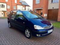2005 FORD GALAXY 1.9 TDI GHIA ONLY 68K MILES! 12 MONTH MOT! 1 PREVIOUS OWNER! FULL SERVICE HISTORY!
