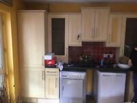 Kitchen units and work surface