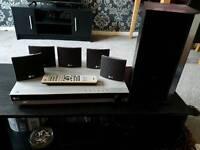 LG DVD PLAYER HOME CINEMA SURROUND SOUND SYSTEM