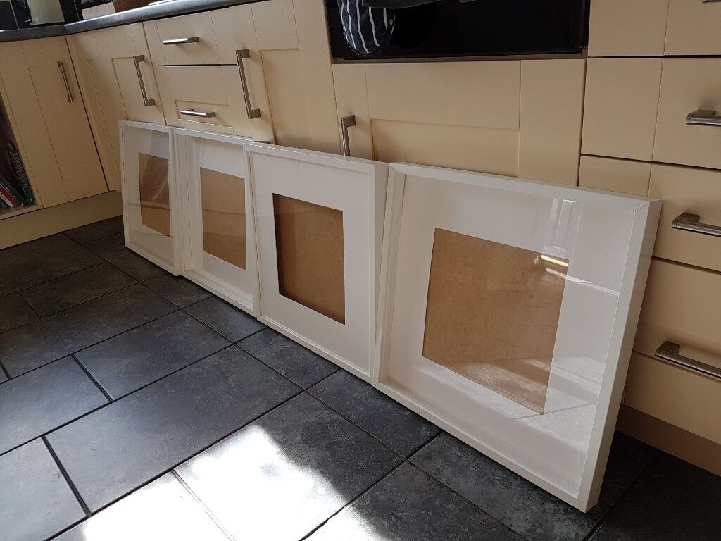 a03a801f8602 Ikea Ribba frame white 50x50cm without mount or 30x30cm with mount