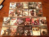 Slimline PS3 (500GB) Console, 2 controllers and 22 Games