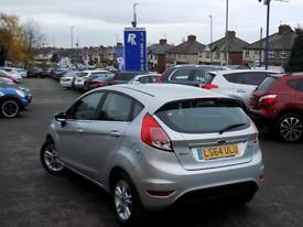 FORD FIESTA 1.0 ZETEC 5dr AUTO 100 BHP * ONLY 5000 MILES * (silver) 2014