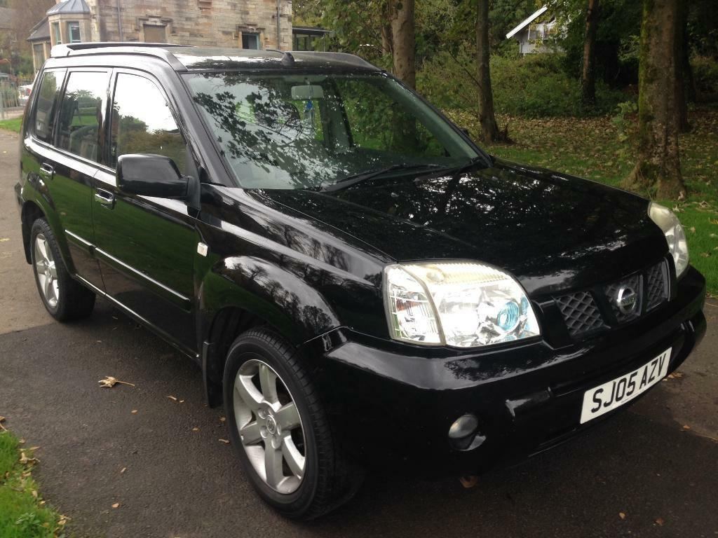 nissan x trail 2 2 dci 136 sport 5dr black 2005 in southside glasgow gumtree. Black Bedroom Furniture Sets. Home Design Ideas