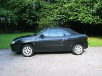 2002 Renault Megane 1.6 16v Dynamique +2dr Cabriolet for sale. Well cared for, great runner. £700.