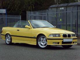 1998 (R) BMW M3 3.2 EVOLUTION CONVERTIBLE 2DR PX S3,M3,RS4,GTI,GTD,EVO,VXR,R32
