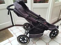 E3 Phil & Teds double buggy