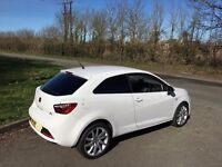 SEAT Ibiza 1.2 TSI FR SportCoupe 3dr 10k miles, FSH 1 OWNER