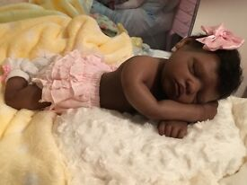 Silicone reborn doll beautiful brand new full body silicone just received last week