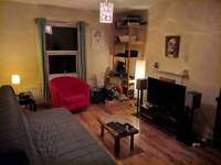 Large double room in house share w/ 1 person only. All bills included, furnished, good location and