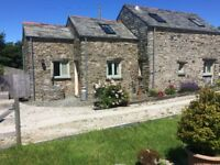 Barn Cottage in Cornwall, near the sea, sleep 4, dog friendly. £495 pw from the 7th of April