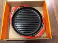 Le Creuset Round Grill 26CM Red