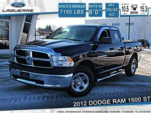 2012 Ram 1500 **ST*4X4*AUTOMATIQUE*CRUISE*A/C**