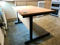 Sturdy Large Desk - Integrated Cable Tidy