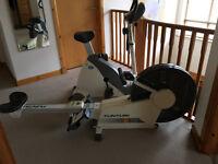 Tunturi R701 Rowing Machine and R2 Exercise Bike