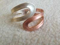 Silver and Copper coloured bracelet