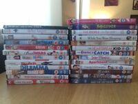 28 romcom dvds