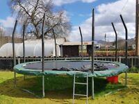 10ft x 15ft oval trampoline
