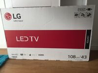 LG 43 inch Led TV brand new