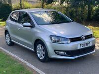 2011 Volkswagen Polo 1.4 Match, DGS Automatic, Low Miles, FSH, 13 Months MOT