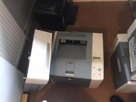 Job lot 1 x pc 3 x printers 1 x monitor