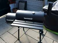 Smoker barbeque bbq charcoal