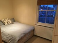 Double Furnished Room Available in Clean, Spacious Flat in Wimbledon Chase SW20