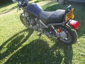 Yamaha XJ750 Maxim Cruiser 1982 years MOT TAX rare bike
