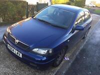 2004 Vauxhall Astra 1.6 SXI TWINPORT + MOT + drives excellent