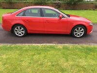 A4 08 WILL HAVE FULL MOT USUAL EXTRAS IN GLEAMING METALLIC RED GREAT DRIVING CAR IN GOOD CONDITION