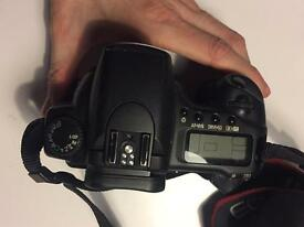 Canon 20D body and battery