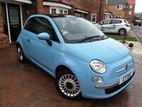 Fiat 500 1.2 Eco Lounge, beautiful car, reluctant/good reason for sale. Personal plates included