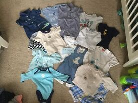 Baby boys bundle of clothes 0-3 months