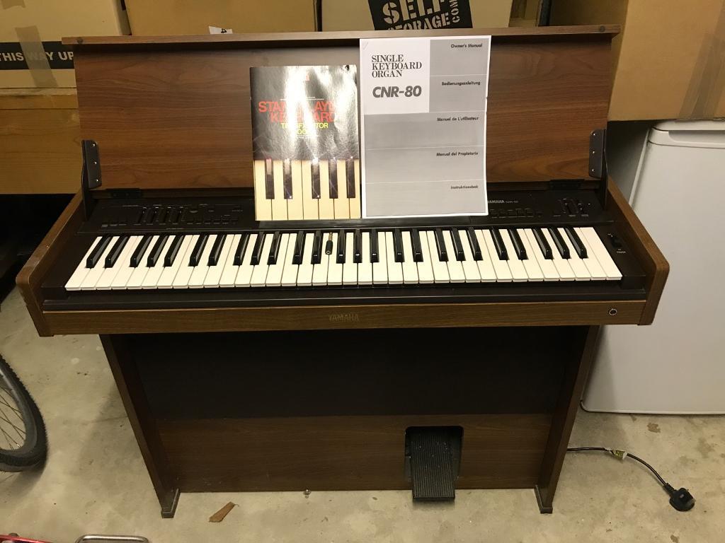 Yamaha CNR-80 Single Keyboard Organ