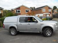 FORD RANGER REAR BACK NOT THE TRUCK 2007 ONWARDS IN SILVER