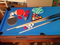 4 in 1 childs game table