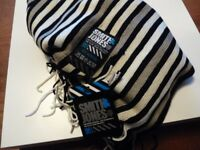 NEW Smith & Jones Striped Scarf