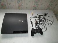 PS3 CECH-3003B 320 GB CONSOLE,16 GAMES,WHICH ARE VIRTUA FIGHTER 5,THIEF,KILL ZONE 2,DARKSECTOR,