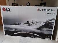 LG 55SJ850V 55 Inch Smart 4K Ultra HD TV with HDR