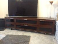 BDI Avion 8929 TV/Media Cabinet in Chocolate Walnut