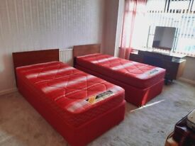 FREE Single bed, immaculate condition, no fire labels